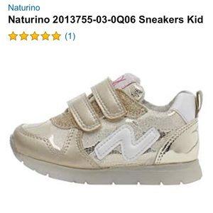 NATURINO gold sneakers
